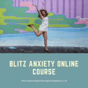 Online Anxiety course - anxiety self help